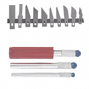 Hobby Knife and Blades Set